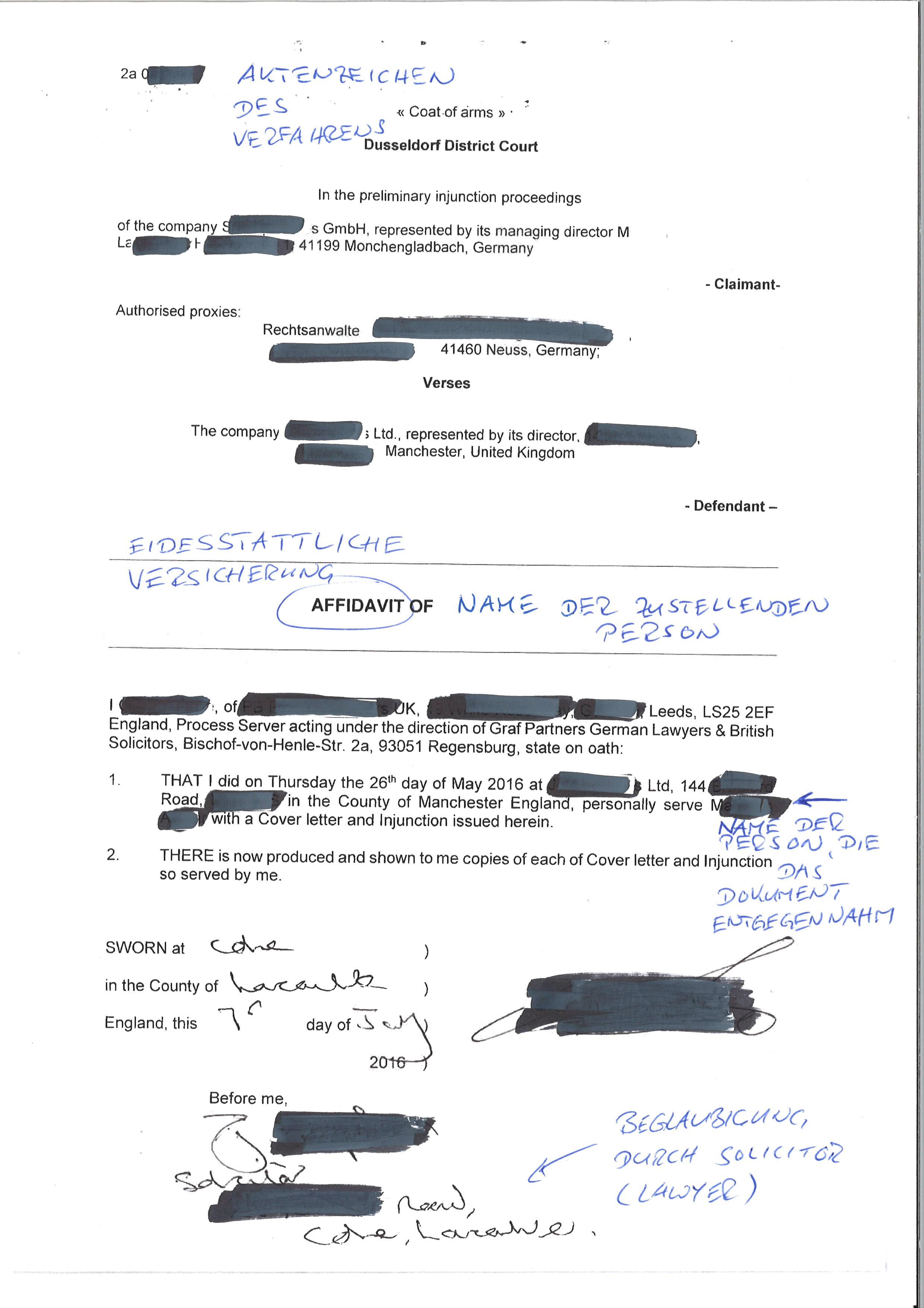 Großzügig Scheidung Affidavit Vorlage Bilder - Entry Level Resume ...