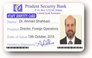 gefälschter Bankausweis
